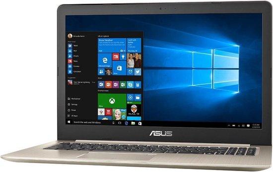 ASUS VivoBook Pro N580GD-E4713T Goud Notebook 39,6 cm (15.6'') 1920 x 1080 Pixels Intel® 8ste generatie Core™ i7 16 GB 512 GB SSD Windows 10 Home