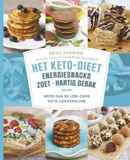 Het keto-dieet: energiesnacks, zoet en hartig gebak - Erica Kerwien | Fthsonline.com