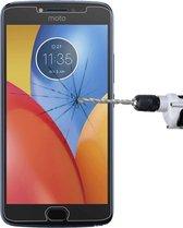 Let op type!! Voor Motorola Moto E4 Plus 0.3mm 9H oppervlaktehardheid 2.5D explosieveilige gehard glas niet-volledig scherm Film