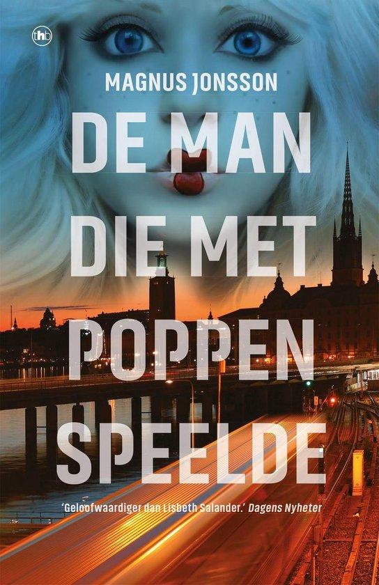 Boek cover De man die met poppen speelde van Magnus Jonsson (Onbekend)