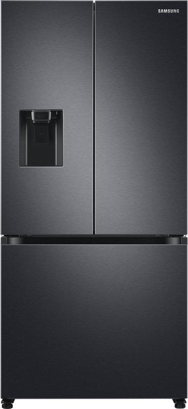 Koelkast: Samsung RF50A5202B1/EU amerikaanse koelkast Vrijstaand 495 l F Zwart, Geborsteld staal, van het merk Samsung