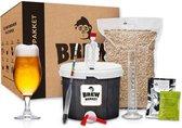Brew Monkey Plus Blond - Bierbrouwpakket - Zelf bier brouwen pakket - Startpakket - Kerstcadeau Man - Kerstpakket