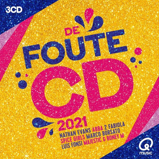 De Foute CD Van Qmusic (2021)