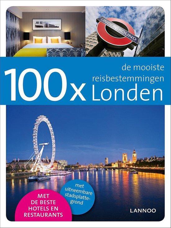 Cover van het boek '100x Londen' van M. Apers en Mattias Apers