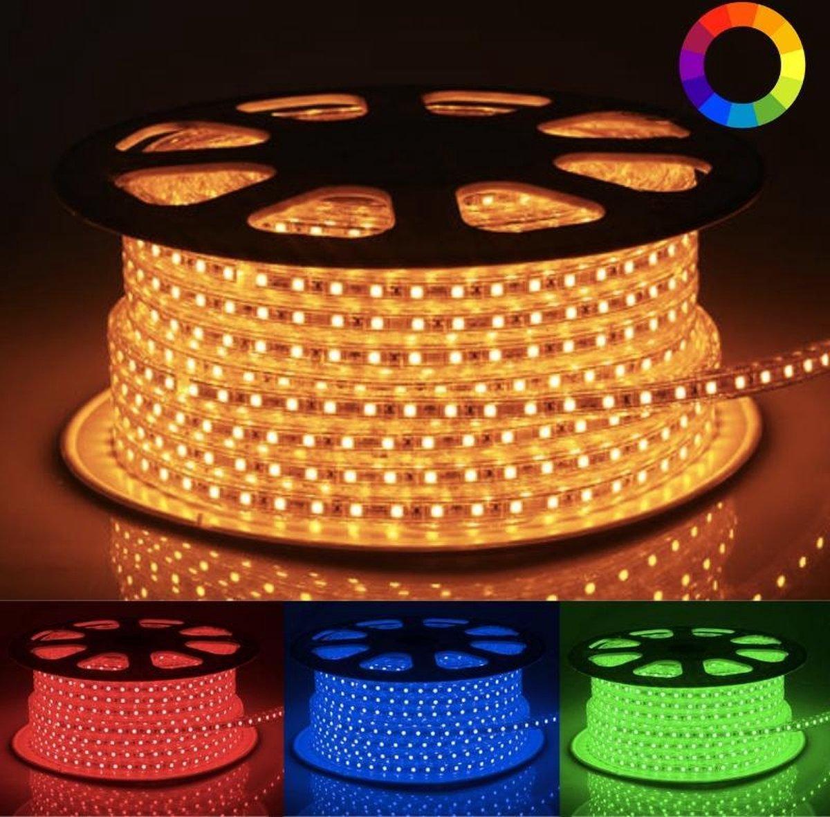 220V LED strip 50M 5050 RGB IP65 60LED / m