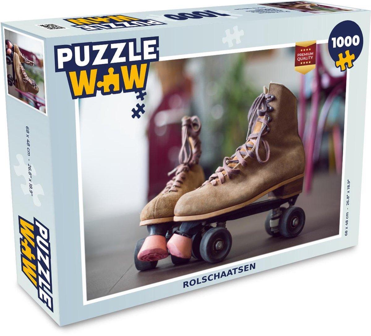 Puzzel 1000 stukjes volwassenen Jaren 70 1000 stukjes - Rolschaatsen - PuzzleWow heeft +100000 puzzels