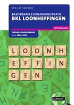 BKL Loonheffingen 2021-2022 Theorie-/opgavenboek