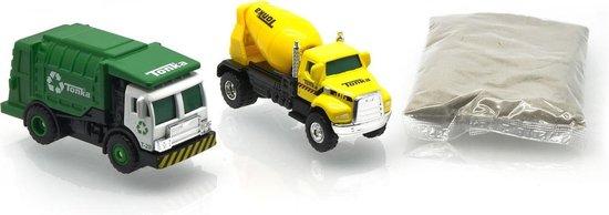 Tonka Combo Pack -Vuilniswagen en Cement Mixer