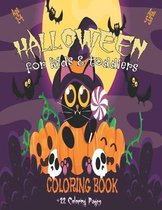 Halloween Coloring Book For Kids & Toddlers