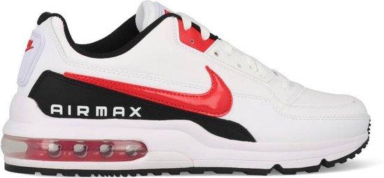 Nike Air Max LTD 3 Heren Sneakers - White/Univ Red-Black - Maat 45