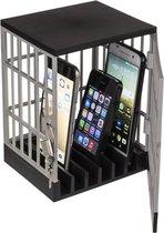 Smartphone/mobiele telefoons kluis opslag gevangenis 15 x 19 cm