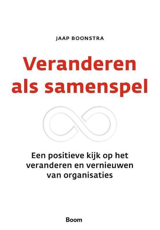 Boek cover Veranderen als samenspel van Jaap Boonstra (Hardcover)