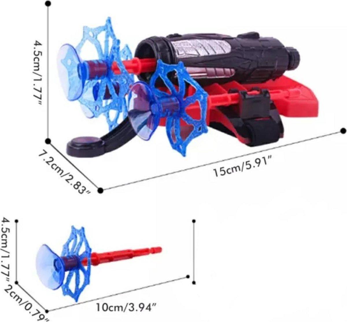 Marvel Webhandschoen Spider-man Blauw/rood