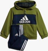 bol.com | Adidas Adidas Joggingpak Logo Hoodie Groen Blauw ...