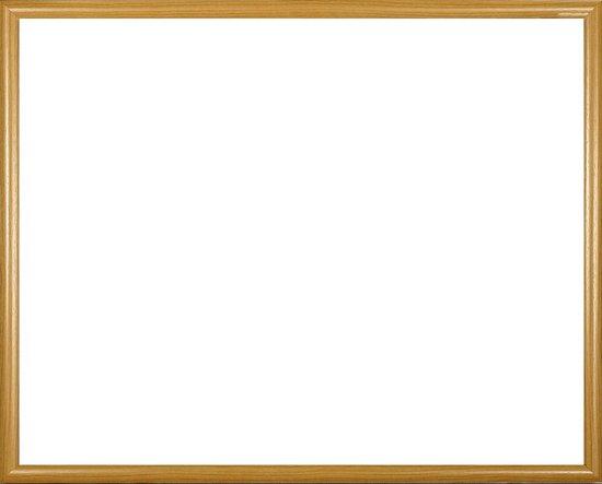 Biggy kunststof fotolijst 78x99 cm, licht beuken