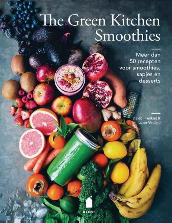 Boek cover The green kitchen smoothies van David Frenkiel (Hardcover)