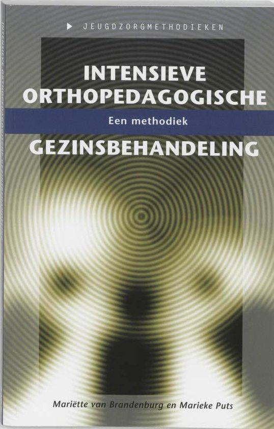 Intensieve Orthopedagogische Gezinsbehandeling - Mariëtte van Brandenburg |