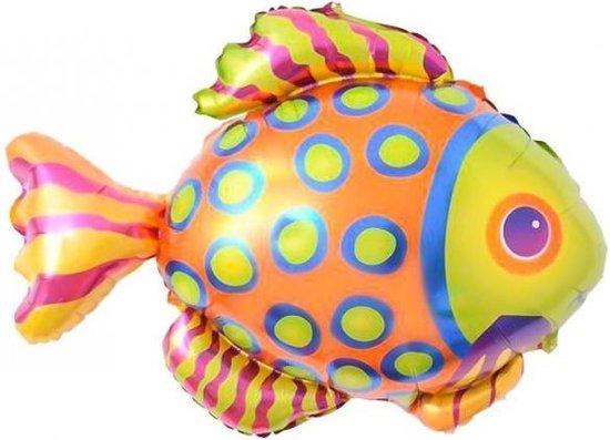 Folieballon XL - 35cm - Gekleurde Vis
