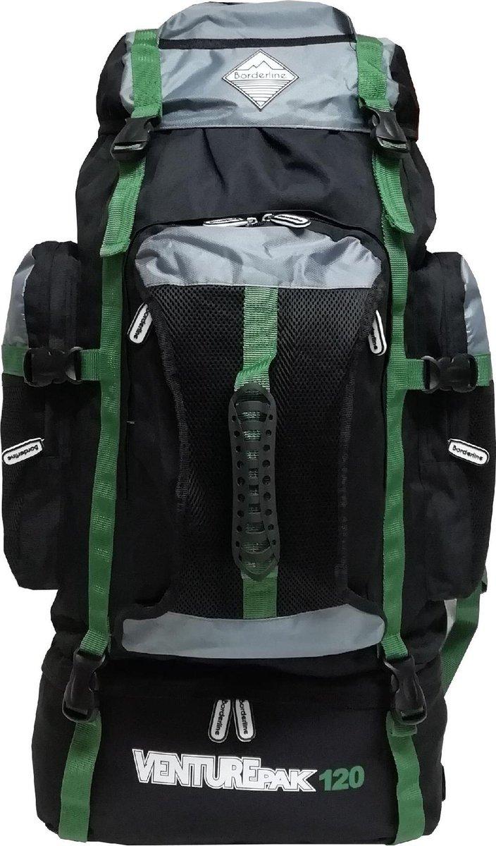 Borderline Venturepak - Outdoor rugzak - zwart / groen