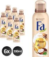 Fa Cream&Oil Cacoa Doucheschuim - 6x200ml
