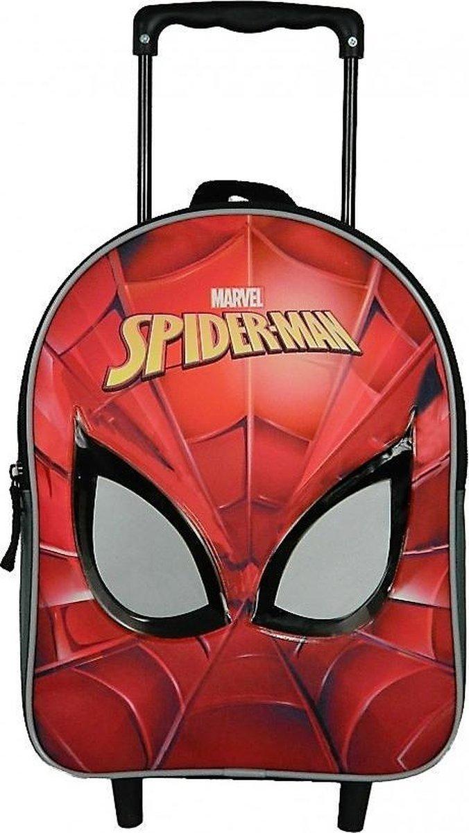 SPIDER-MAN Rugzak Trolley Rugtas School Tas 2-5 Jaar SPIDERMAN