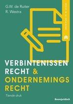 Boek cover Recht in je opleiding  -   Verbintenissenrecht & ondernemingsrecht van Robert Westra (Paperback)