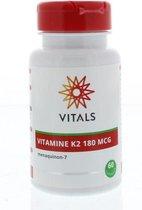 Vitals Vitamine K2 180 mcg Voedingssupplement - 60 vegicaps
