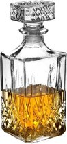 Afbeelding van Excellent Houseware Whiskey Karaf - 900 ml - Glas