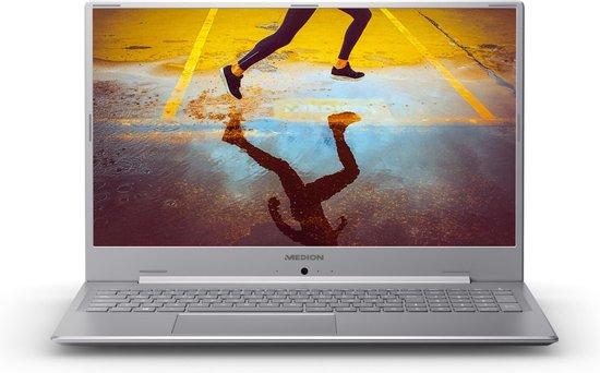 MEDION AKOYA E17201 Notebook Grijs, Zilver 43,9 cm (17.3'') 1920 x 1080 Pixels Intel® Pentium® Silver 8 GB DDR4-SDRAM 1256 GB HDD+SSD Wi-Fi 5 (802.11ac) Windows 10 Home