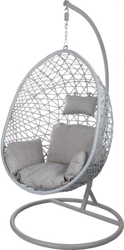 Hangstoel Zonder Frame.Bol Com Egg Hangstoel Cocoon Relax Grijs