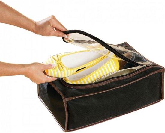 ComfortTrends Tas Voor schoenen Formaat: 40 x 28 x 14 cm - Ruimte voor max. 4 paar schoenen