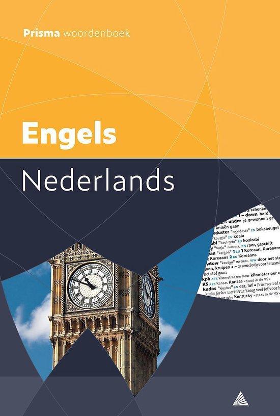 Boek cover Prisma woordenboek Engels-Nederlands van F. J. J. Van Baars (Paperback)