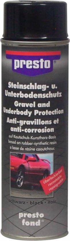 Bodembescherming Anti Steenslag Coating Zwart 500 ml