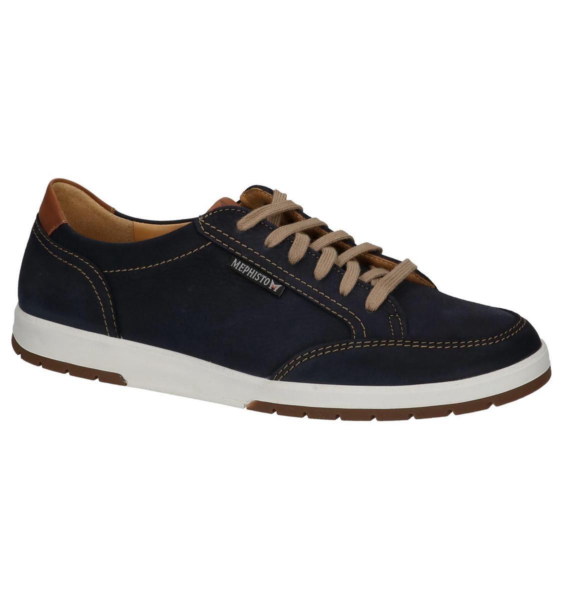 Mephisto - Ludo Sportbuck - Casual schoen veter - Heren - Maat 40 - Blauw;Blauwe -... w5QpF