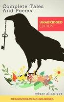 Boek cover Complete Stories and Poems of Edgar Allen Poe van Edgar Allan Poe (Onbekend)