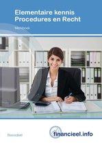 Financieel administratieve beroepen - Elementaire kennis Procedures en Recht (set)