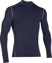 Under Armour UA CG ARMOUR MOCK- Sportshirt - Heren - Maat XXL - Donker Blauw