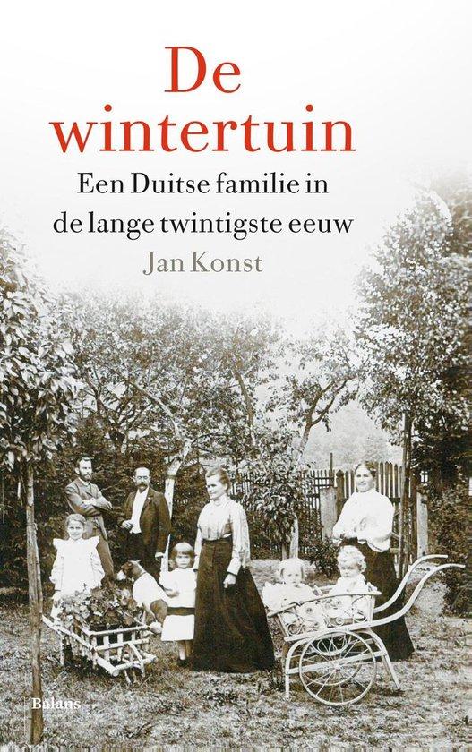 Boek cover De wintertuin van Jan Konst (Onbekend)