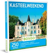 Bongo Bon Nederland - Kasteelweekend Cadeaubon - Cadeaukaart cadeau voor man of vrouw | 250 historische hotels