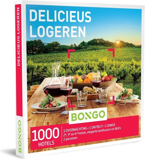 Bongo Bon Nederland - Delicieus Logeren Cadeaubon - Cadeaukaart cadeau voor man of vrouw | 1000 stijlvolle hotels