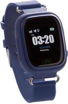 One2track Connect Touch - GPS Smartwatch kind met telefoon - Werking in heel Europa - Blauw