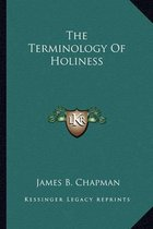 The Terminology of Holiness