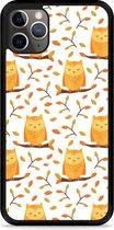 iPhone 11 Pro Hardcase hoesje Cute Owls