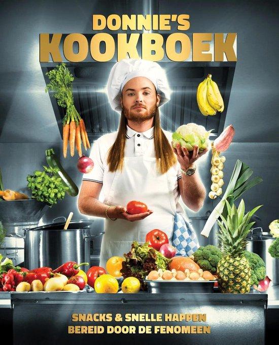 Boek cover Donnies kookboek van Rapper Donnie (Onbekend)
