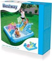 Bestway - Speelzwembad Aquarium - 239 x 206 x 86 cm