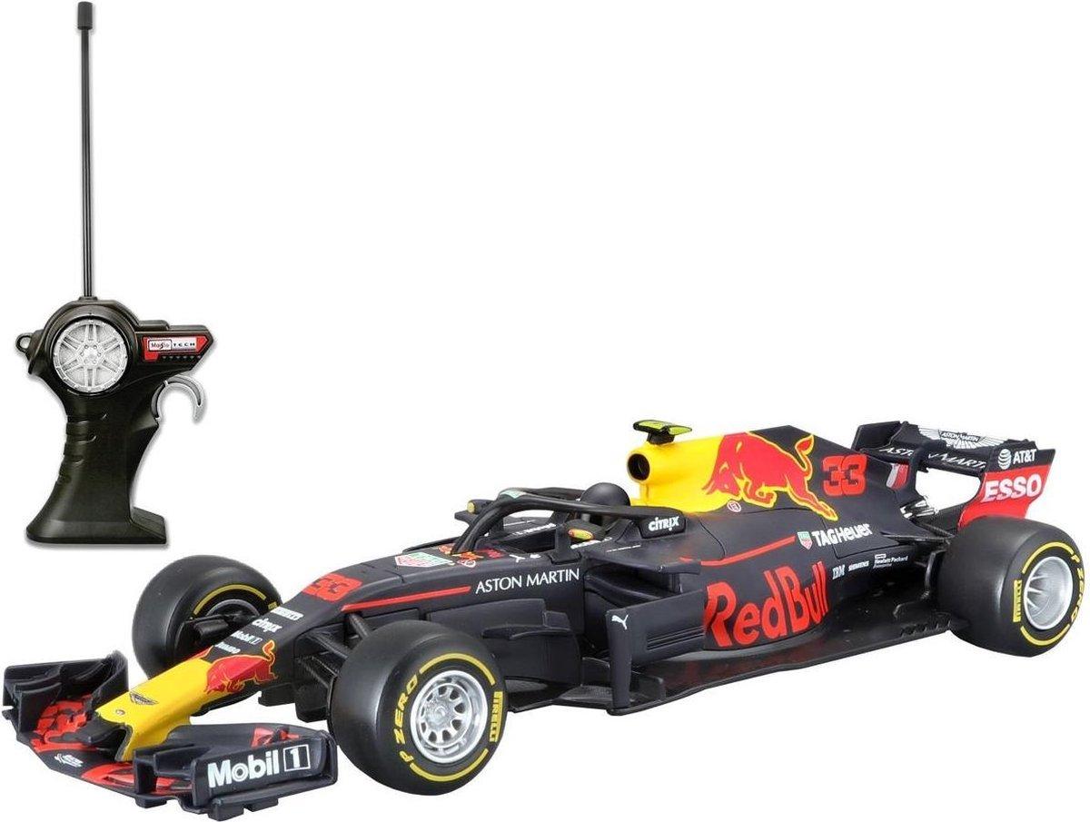 Maisto RC Radiografische Bestuurbare auto schaal 1/24 Team Red Bull F1 2018 RB14 #33 Max Verstappen