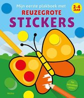 Mijn eerste plakboek met reuzegrote stickers (2-4 jaar)