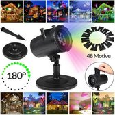 LED laser licht projector | 48 Motieven | Kerst ve
