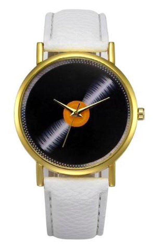 Hidzo Horloge LP ø 37 mm – Wit – In horlogedoosje