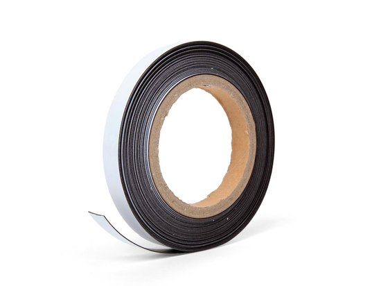 Radiatorfolie 500 x 50 cm met 10 meter magneettape | voor plaatsing direct achterop de radiator uit het zicht | voorkomt dat warmte in muur trekt